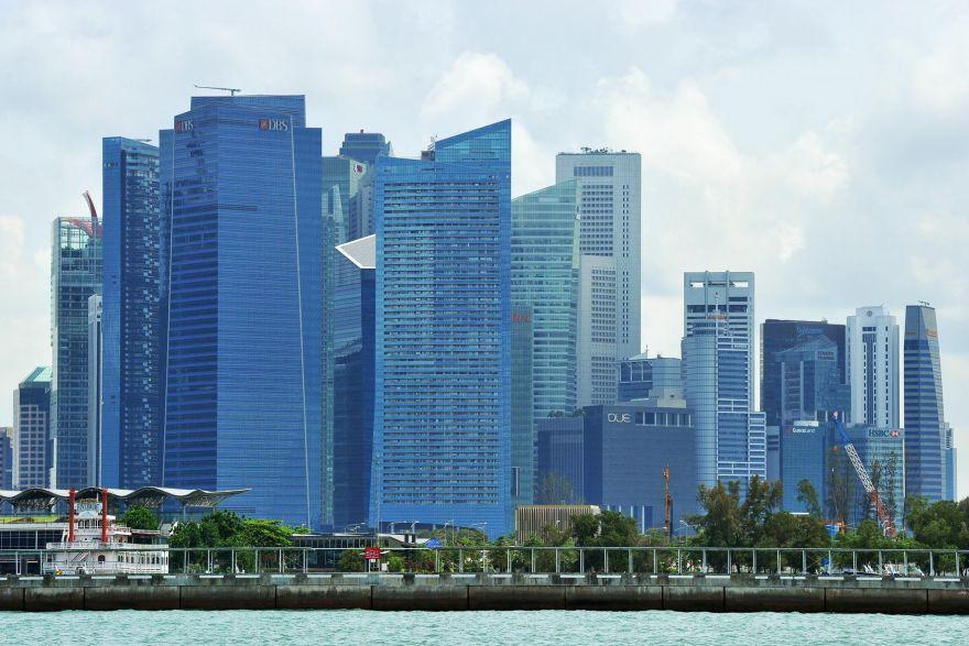 Singapore real estate stocks offer shelter in down market