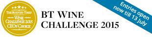 BT Wine Challenge 2015