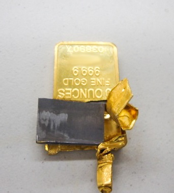 Fake Producers Usually Cast Real Gold Around A Tungsten Slug