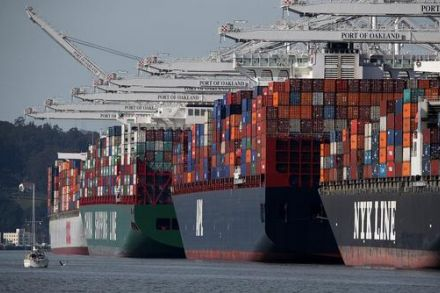 Statistics Canada says trade deficit hit record $4.1 billion in March