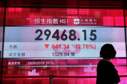 Hong Kong, Shanghai stocks end sharply lower