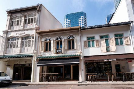 Boon Tat Street shophouse home to Michelin starred restaurant Cheek by Jowl up for sale