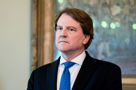 Trump lawyer McGahn, Mueller cooperator, may leave White House