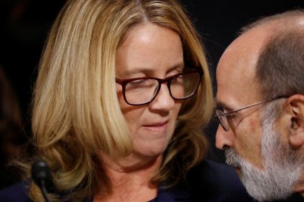 1600 men say they believe Christine Blasey Ford in full-page newspaper ad