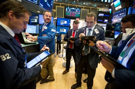 US Wall Street opens lower as Apple drags