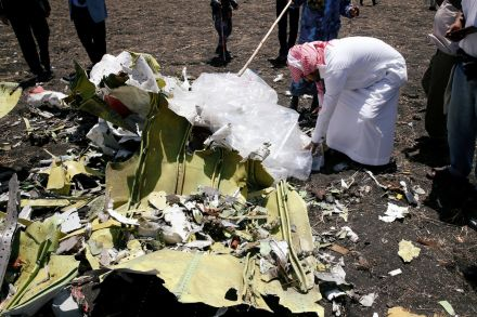 No bodies, only small remains recovered from Ethiopia Airlines crash