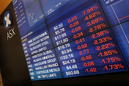 Australia: Shares weighed by trade worries; focus on RBA decision
