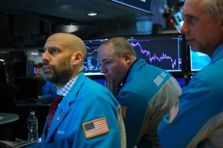 United States stocks end sharply lower on virus fears, Dow -1