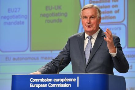 Michel Barnier warns of 'serious divergences' in trade talks with UK