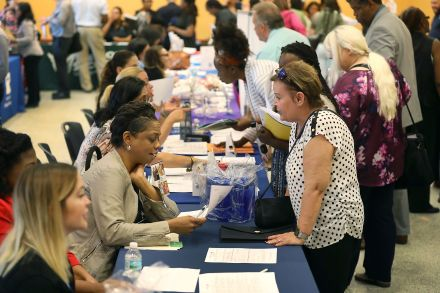 2.43 million Americans applied for unemployment benefits last week