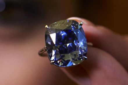 Hk Tycoon Buys His 7 Year Old Daughter A Blue Diamond For Record Us 48 4m Consumer The Business Times