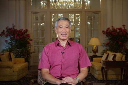 PM Lee recording the 2016 New Year Messages at the Istana_MCI Photo.jpg