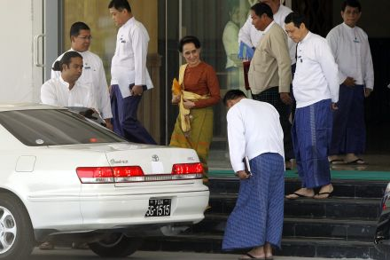 New role created for Myanmar's Suu Kyi
