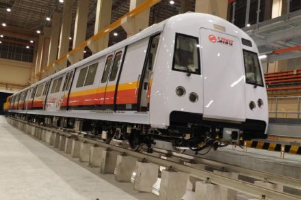 Singapore sends faulty subway cars back to China