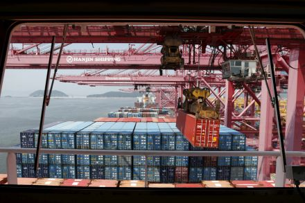 Hanjin Shipping files for bankruptcy in South Korea