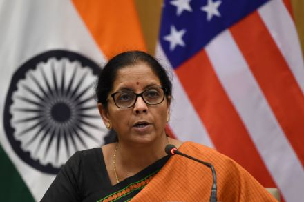 Working to make India investor friendly hub: Sitharaman