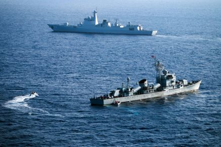 39237518 - 28_07_2016 - FILES-CHINA-RUSSIA-MARITIME-DEFENCE-DIPLOMACY.jpg