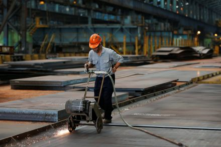 China's Top Steel Mills Move Closer to Creating Arcelor Rival