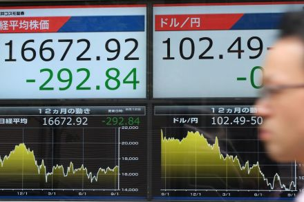 Asian Stocks Mostly Lower Ahead of US Presidential Debate