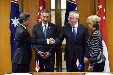 Singapore Australia Free Trade Agreement Upgraded Government