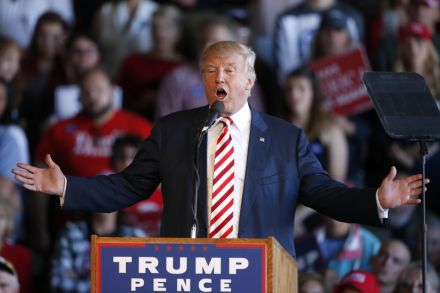 Donald Trump refuses to say he will accept U.S. election result