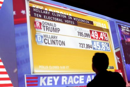 Electoral College not divided evenly