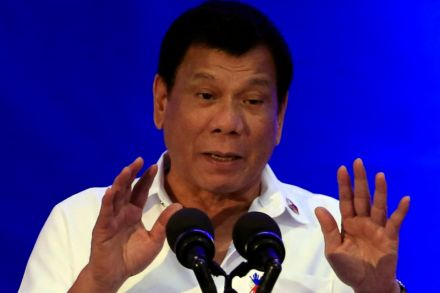 Philippines' Duterte mulls leaving global court