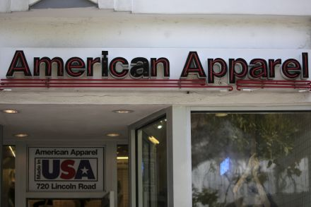 American Apparel files for second bankruptcy in just over a year