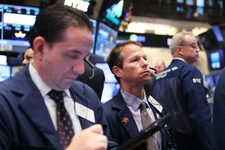 US Stocks Touch Record High on Monday