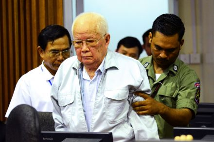Backed court in Cambodia upholds life sentences for Khmer Rouge leaders