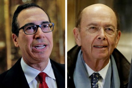 Wall Street back in favour with Trump cabinet picks, Banking ...