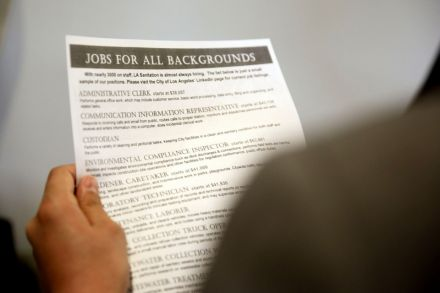 United States  economy adds a strong 227000 jobs in January