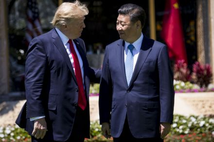 Trump and Xi Jinping meet to discuss 'war today' with North Korea