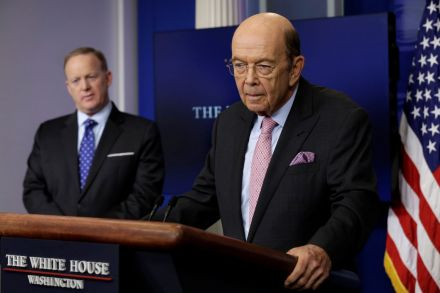 Wilbur Ross: Syria Airstrikes Were 'Entertainment' For Trump's Guests