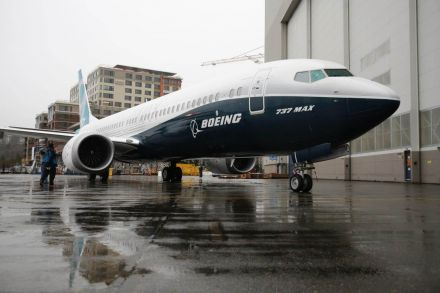 Boeing halts testing of new 737 Max plane over engine issue