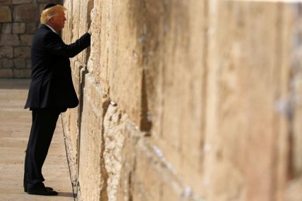 Trump's trip to Israel may set new tone in Middle East
