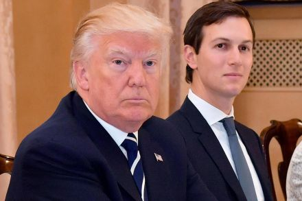 Dems question Kushner's Russia ties; Trump d... 5:06 pm Sun
