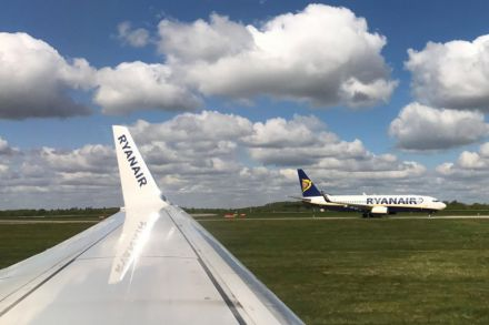 Ryanair defies terror threat and weak sterling to report profit spike
