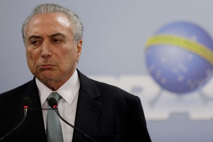 Brazil's president faces key court session in campaign case