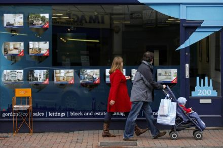 UK Halifax House Price Growth Eases In May