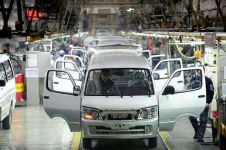 China's Auto Sales Decline In May