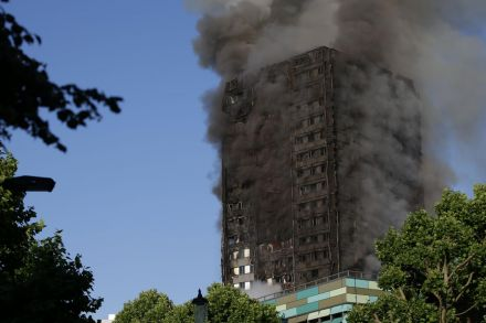 Death Toll In London Apartment Building Fire Rises To 17