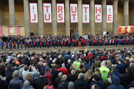 UK charges six people in deadly Hillsborough stadium case