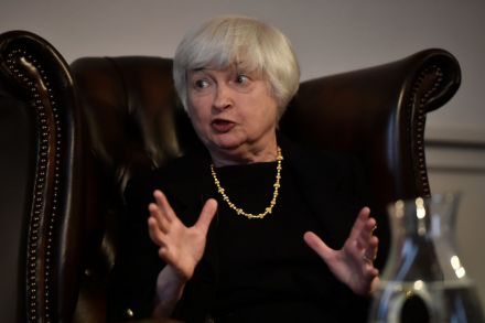 Yellen treated at London hospital over the weekend