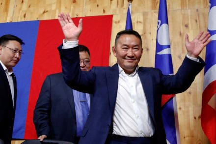 Former martial arts champion Khaltmaa Battulga poised to win Mongolian presidential election