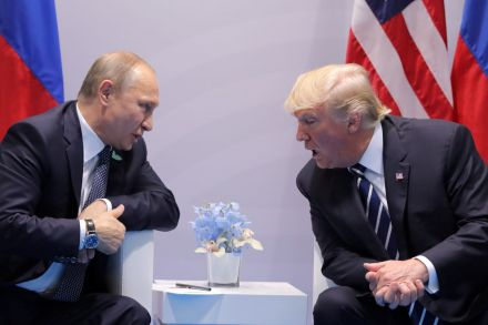 Donald Trump, Vladimir Putin met for private, undisclosed, chat at G20