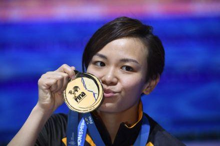 Cheong Jun Hoong : Malaysia pips China in 10m platform for historic gold