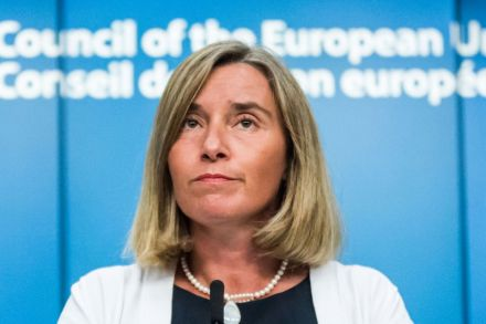 European Union foreign affairs chief urges talks to resolve Gulf crisis