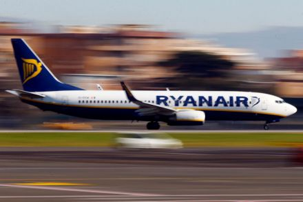 Ryanair says quarterly profits boosted by Easter