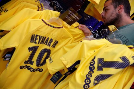 more photos 8015f b27b7 Football: PSG sell 10,000 Neymar shirts on first day, Life ...